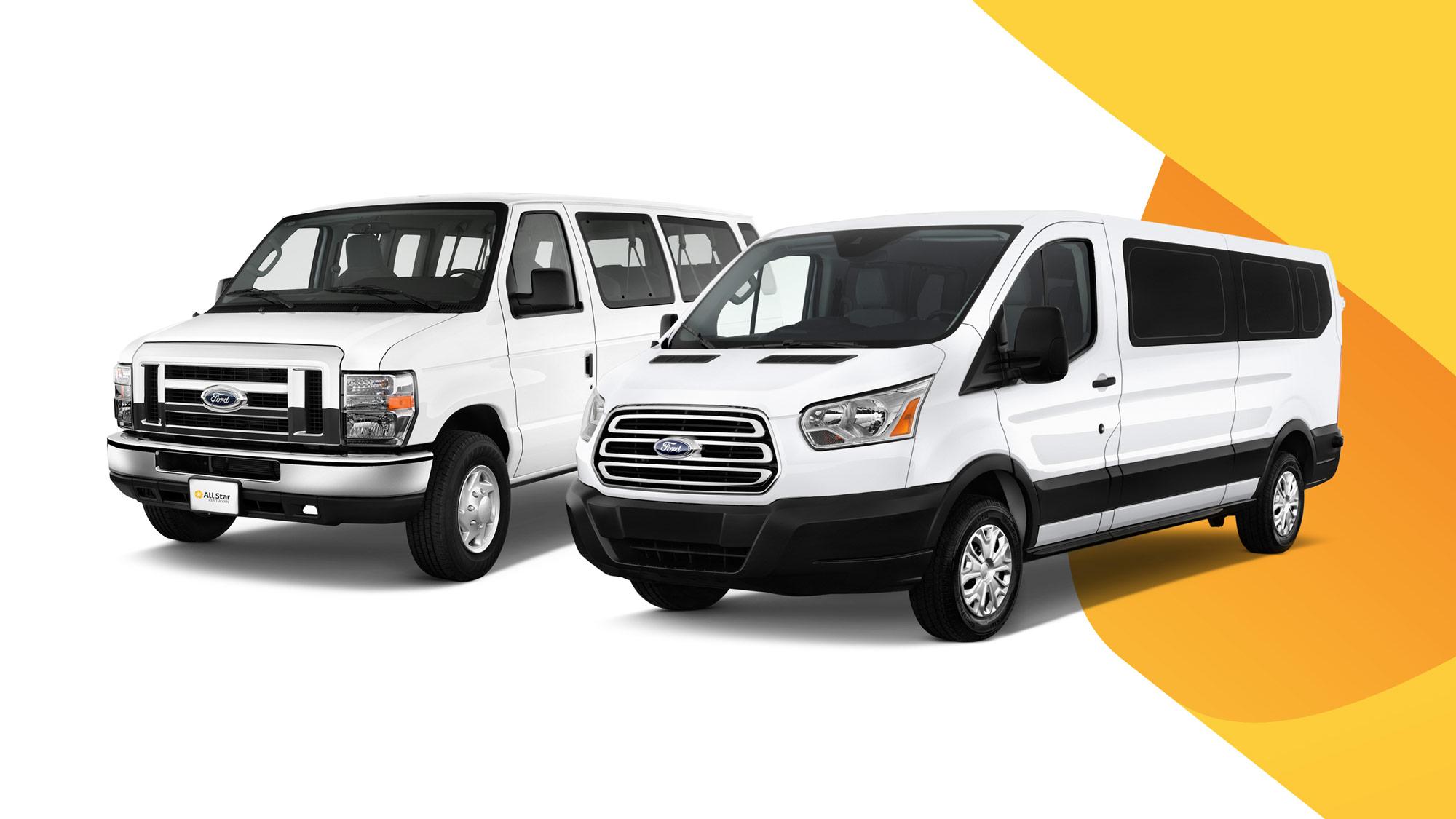 All Star Rent A Van San Diego s Premier Van Rental Service